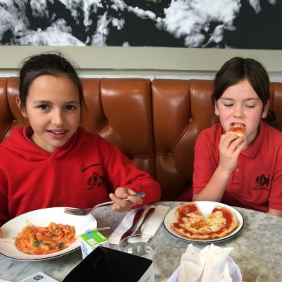 Lunchtime Reward Winners Combe Primary School